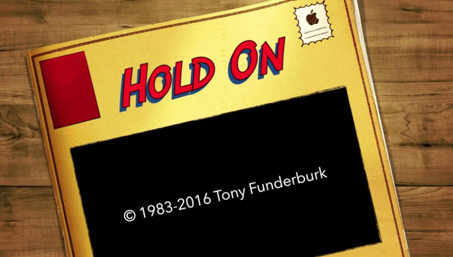 Hold On Lyrics Video by Tony Funderburk