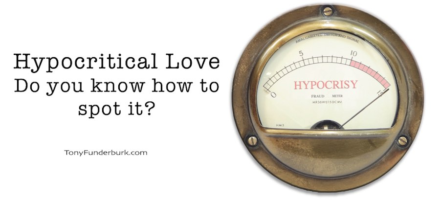 Hypocritical Love - Do you know how to spot it?