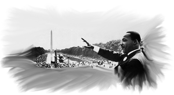 "The famous speech by Dr. Martin Luther King, Jr. ""I Have A Dream"""