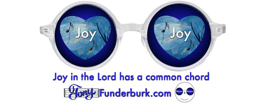 Joy in the Lord has a common chord