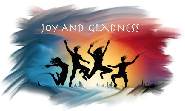 Eternal life is joy and gladness.