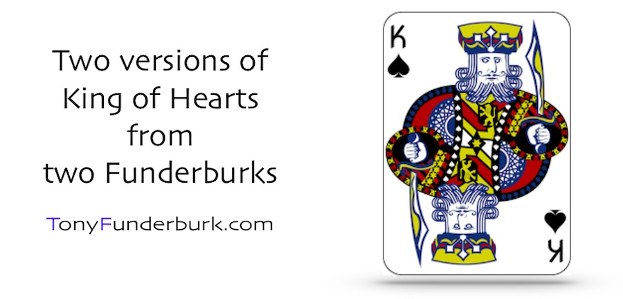 King of Hearts - one song title, two Funderburks