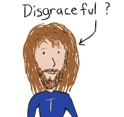 Is it disgraceful if a man has long hair?