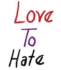 Writer singer illustrator, Tony Funderburk, wants to know why so many people Love To Hate.