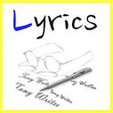 Lyrics by writer singer illustrator Tony Funderburk
