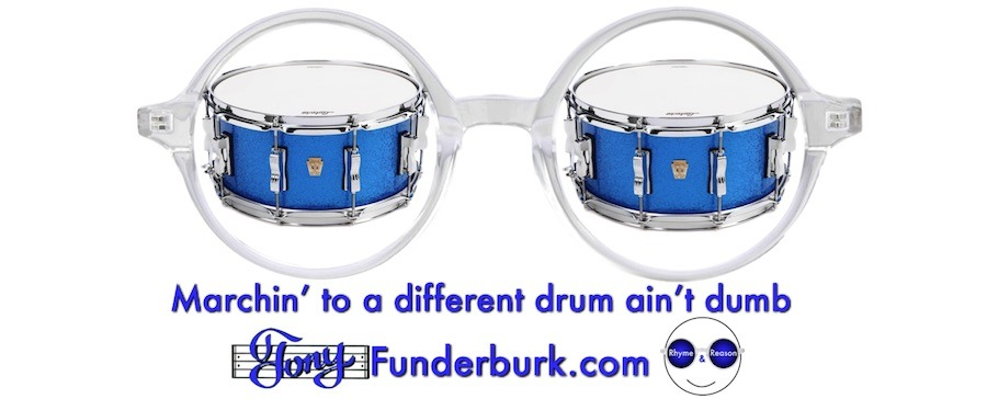 Marching to a different drum