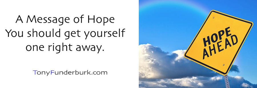 Message of Hope - get yourself one right away