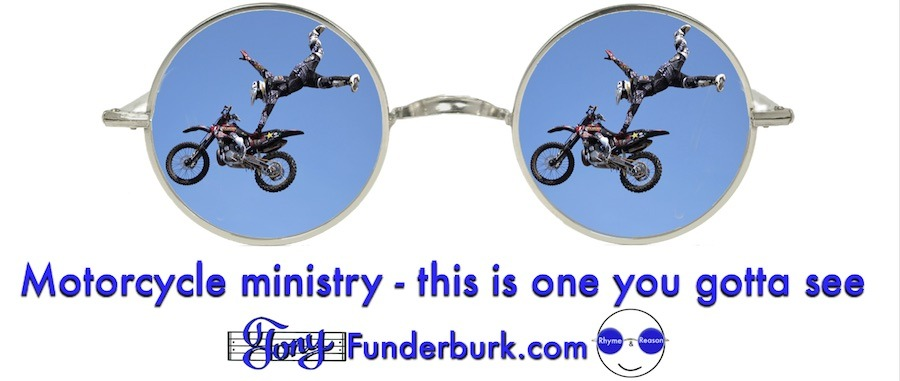 Motorcycle ministry - this is one you gotta see.