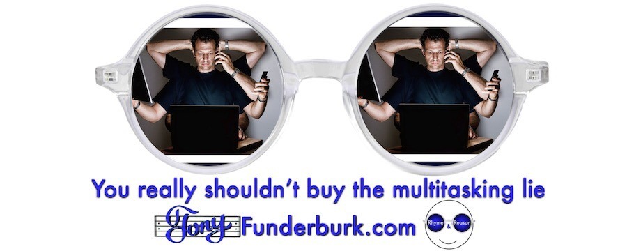 Multitasking lie is something you shouldn't buy