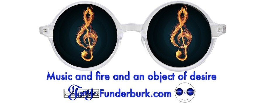 Music and fire and an object of desire