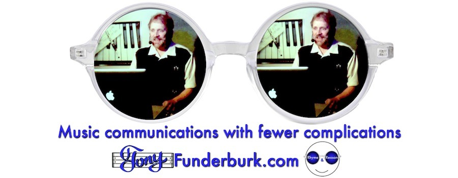 Music communications with fewer complications