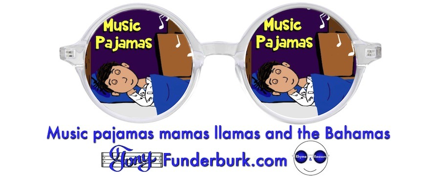 Music pajamas - a book for kids by Tony Funderburk