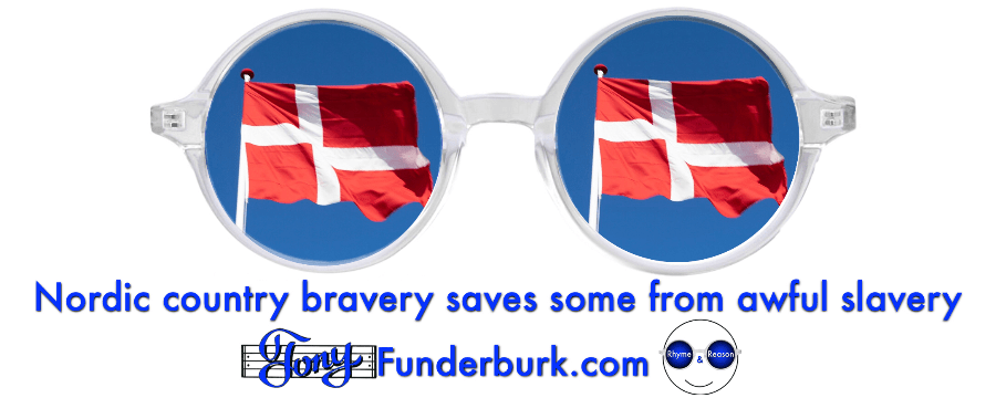 Nordic country bravery saves some from awful slavery