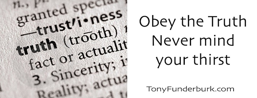Obey the Truth - you can find it in Jesus