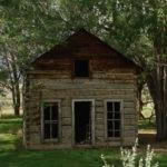 Old Log Cabin near Rifle Colorado