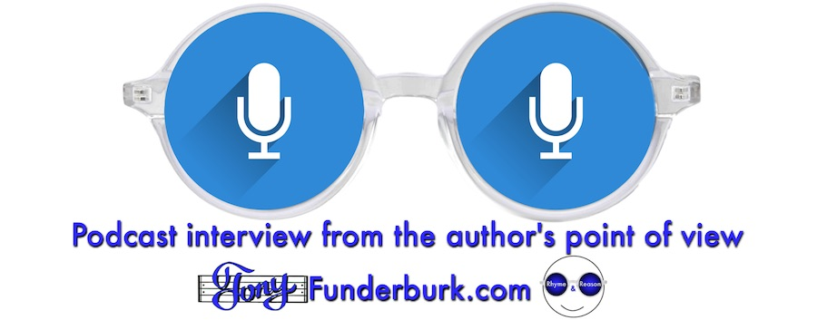 Podcast interview from the author's point of view