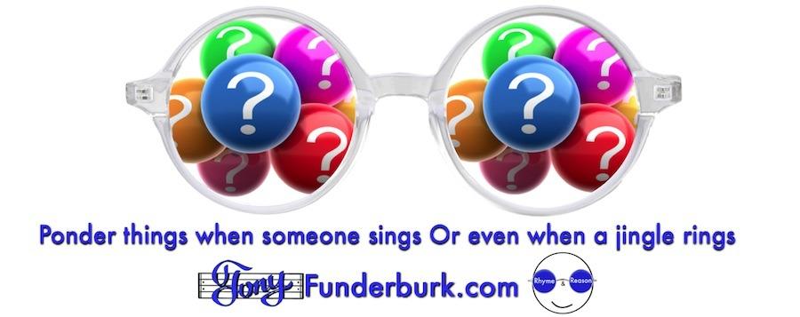 Ponder things when someone sings