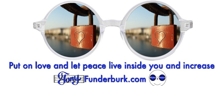 Put on love and let peace live inside you and increase