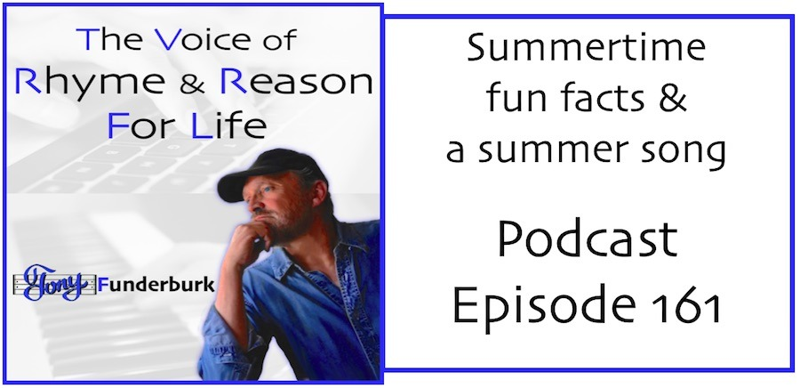 The Rhyme and Reason Podcast with Tony Funderburk - Episode 161
