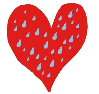 In today's Rhyme Time writing for kids, Tony talks about this Raining In My Heart which is a good thing.