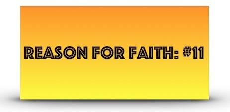 Reason For Faith 11