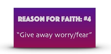 Reason For Faith #4