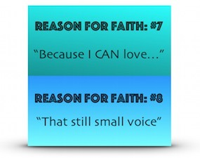 Reasons For Faith 7 and 8