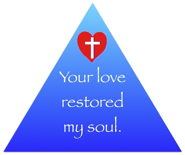 Only God can restore my soul.