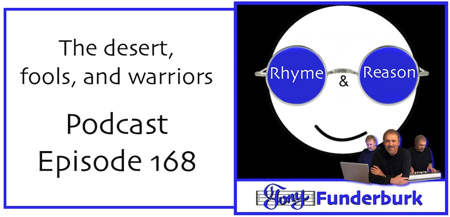 Rhyme Reason Podcast with Tony Funderburk - Episode 168