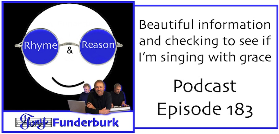 Beautiful information and singing with grace - Rhyme Reason Podcast Episode 183