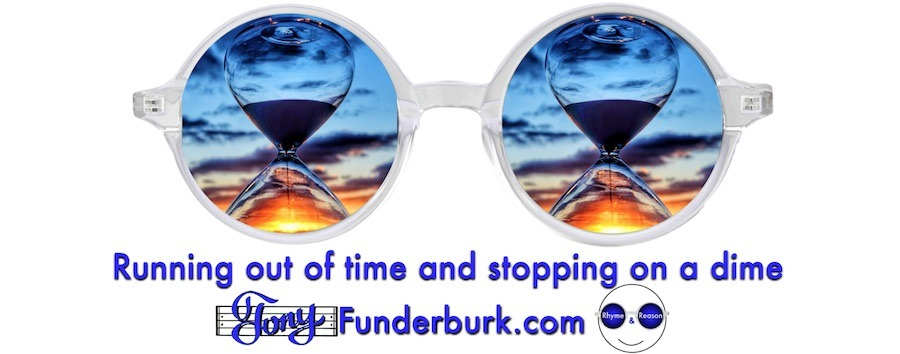 Running out of time and stopping on a dime