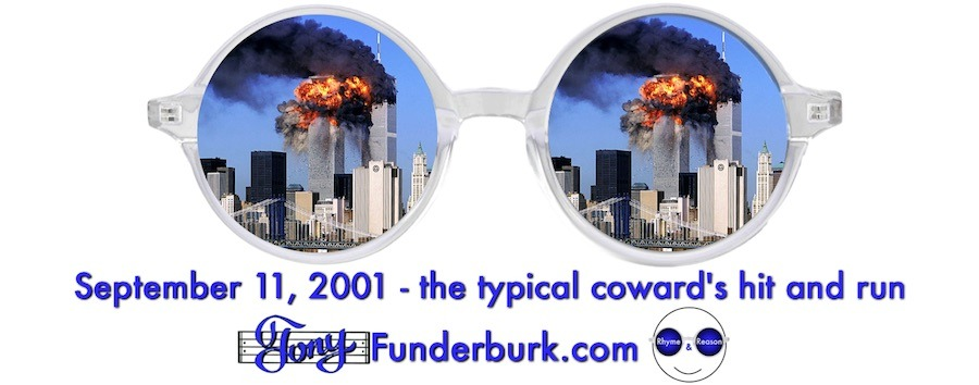 September 11, 2001 - the typical coward's hit and run