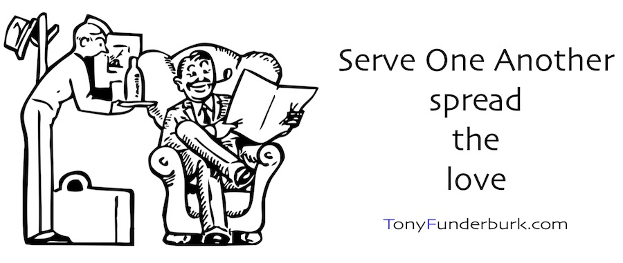 Serve One Another - spread the love