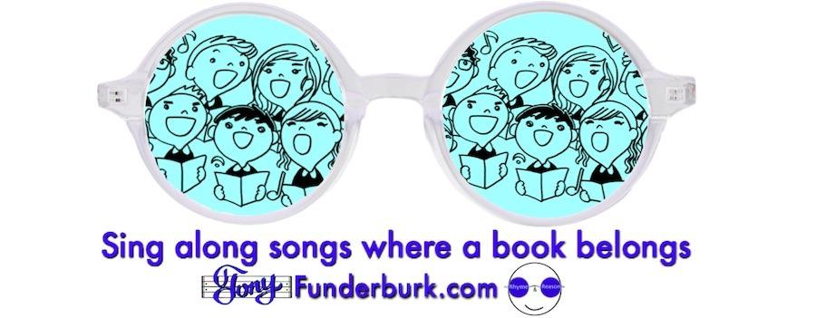 Sing along songs where a book belongs