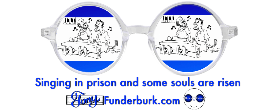Singing in prison and some souls are risen