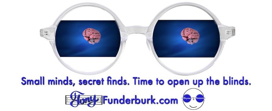 Small minds, secret finds