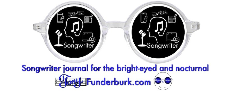 Songwriter journal for the bright-eyed and nocturnal