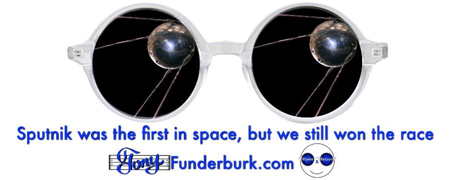 Sputnik was the first in space, but we still won the race