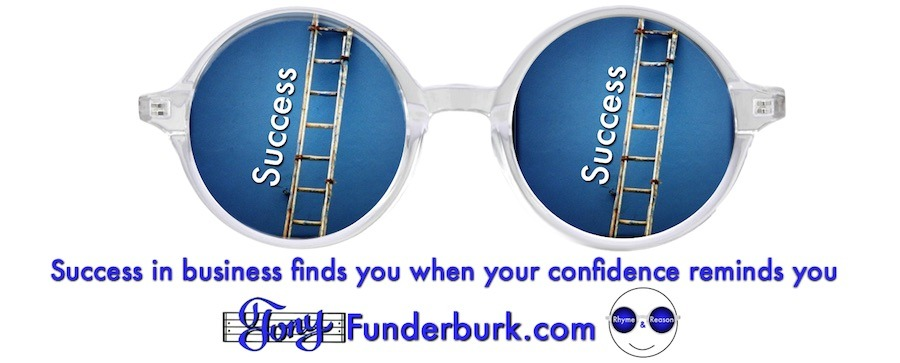 Success in business finds you when...