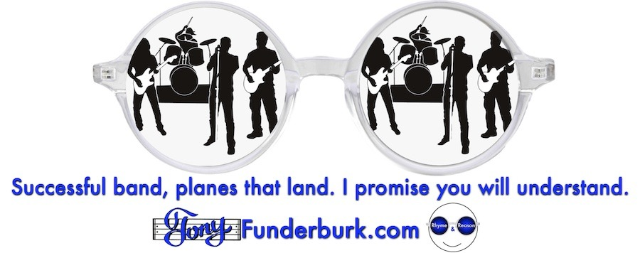 Successful band, planes that land. I promise you will understand.