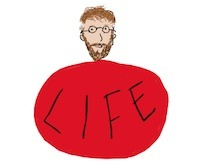 Writer singer illustrator, Tony Funderburk, would rather be Swallowed Up By Life than choose death.