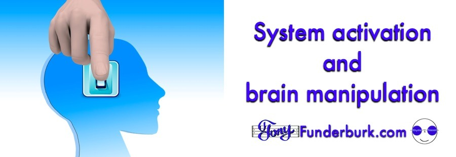System activation with words and music almost like brain manipulation