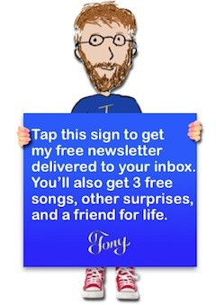 Get Tony's newsletter delivered to your inbox for free.