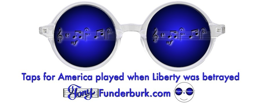 Taps for America played when Liberty was betrayed