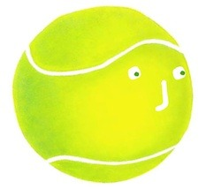 Writer singer illustrator, Tony Funderburk, wonders what it would be like to be a tennis ball used at Wimbledon.
