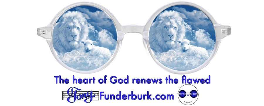 The heart of God renews the flawed.