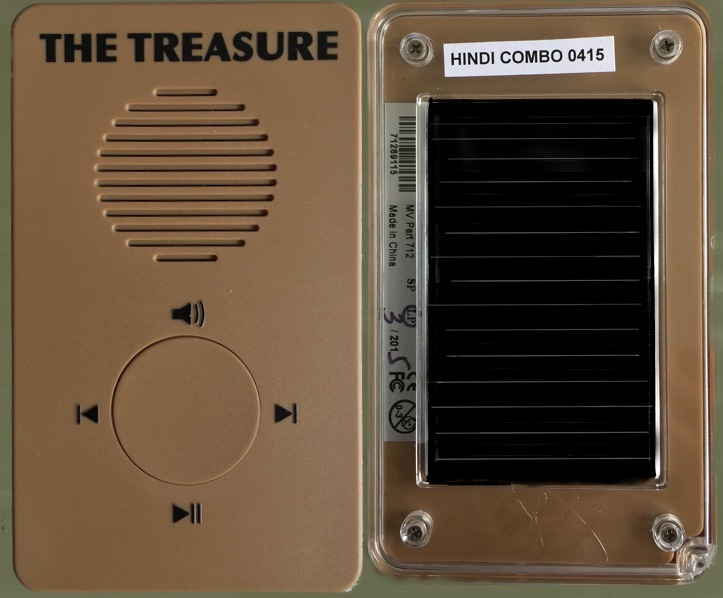 The Treasure - a solar powered audio Bible in many languages