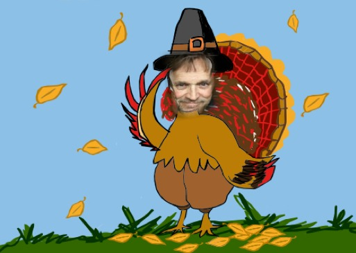 Singer songwriter and children's writer, Tony Funderburk shares a special photo of himself for Thanksgiving 2012